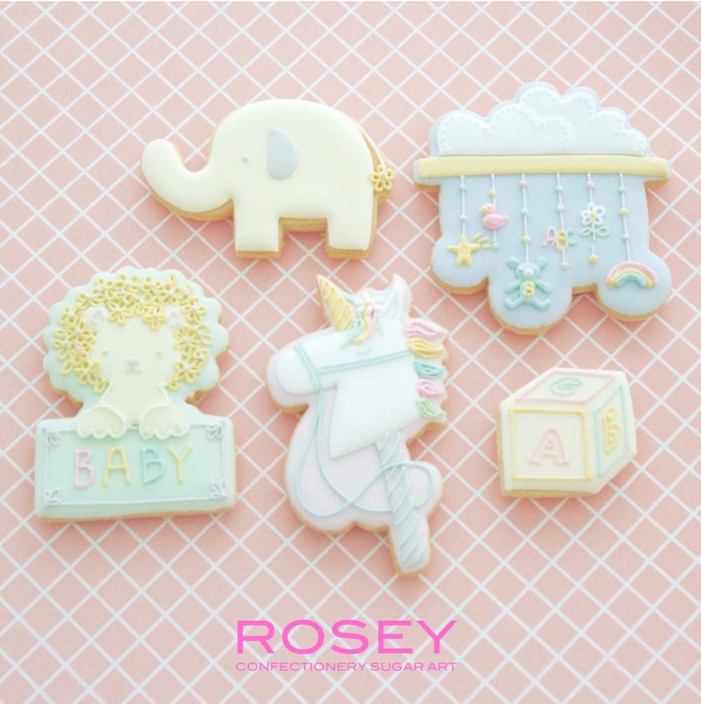 "ICING COOKIES   ""BABY"" アイシングクッキー  レベル:★☆☆"