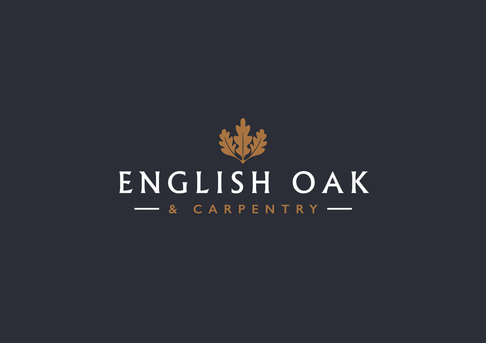 English Oak & Carpentry Branding & Website  www.englishoakandcarpentry.co.uk
