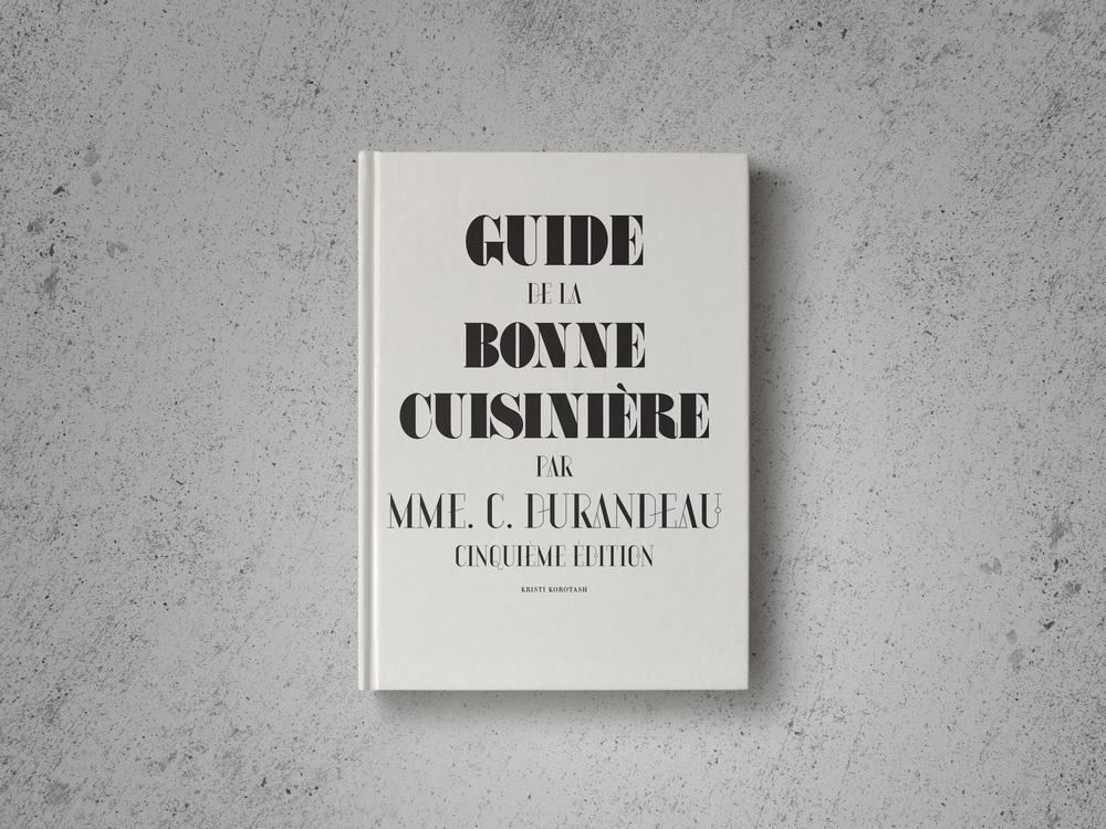 Guide de la Bonne Cuisinière / Vintage Cookbook