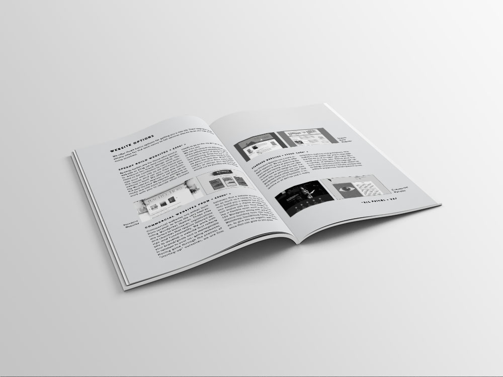 The Curved House brochure