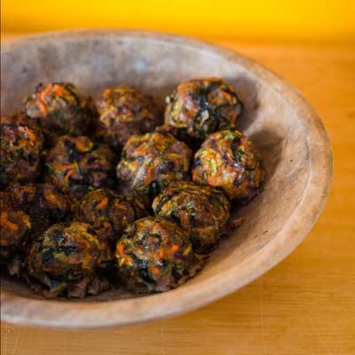Paleo Kelp Meatballs