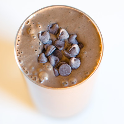 Chocolate Protein Power Shake - with Kelp!