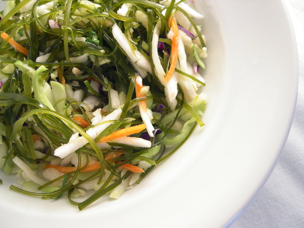 Sea Slaw- Ocean Approved Kelp Slaw Cut with Cabbage and Carrots