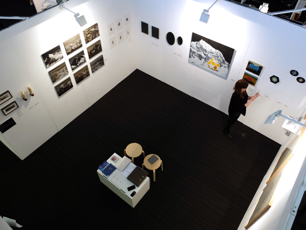 Installation view, dalla Rosa stand (London Art Fair 2014).
