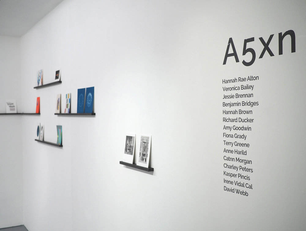 A5xn installation view