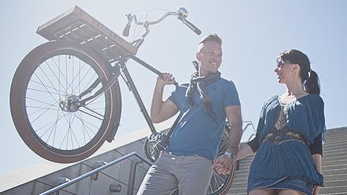 VELORBIS. Arte em bikes.