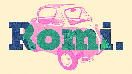 Romi 56. Produto único com uma história idem.