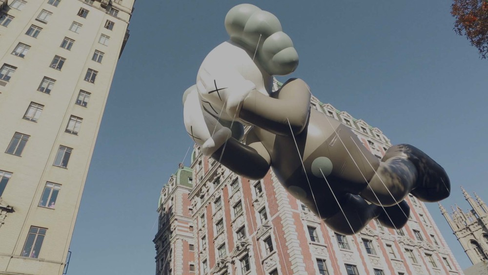 "KAWS ""Companion at the Parade"""
