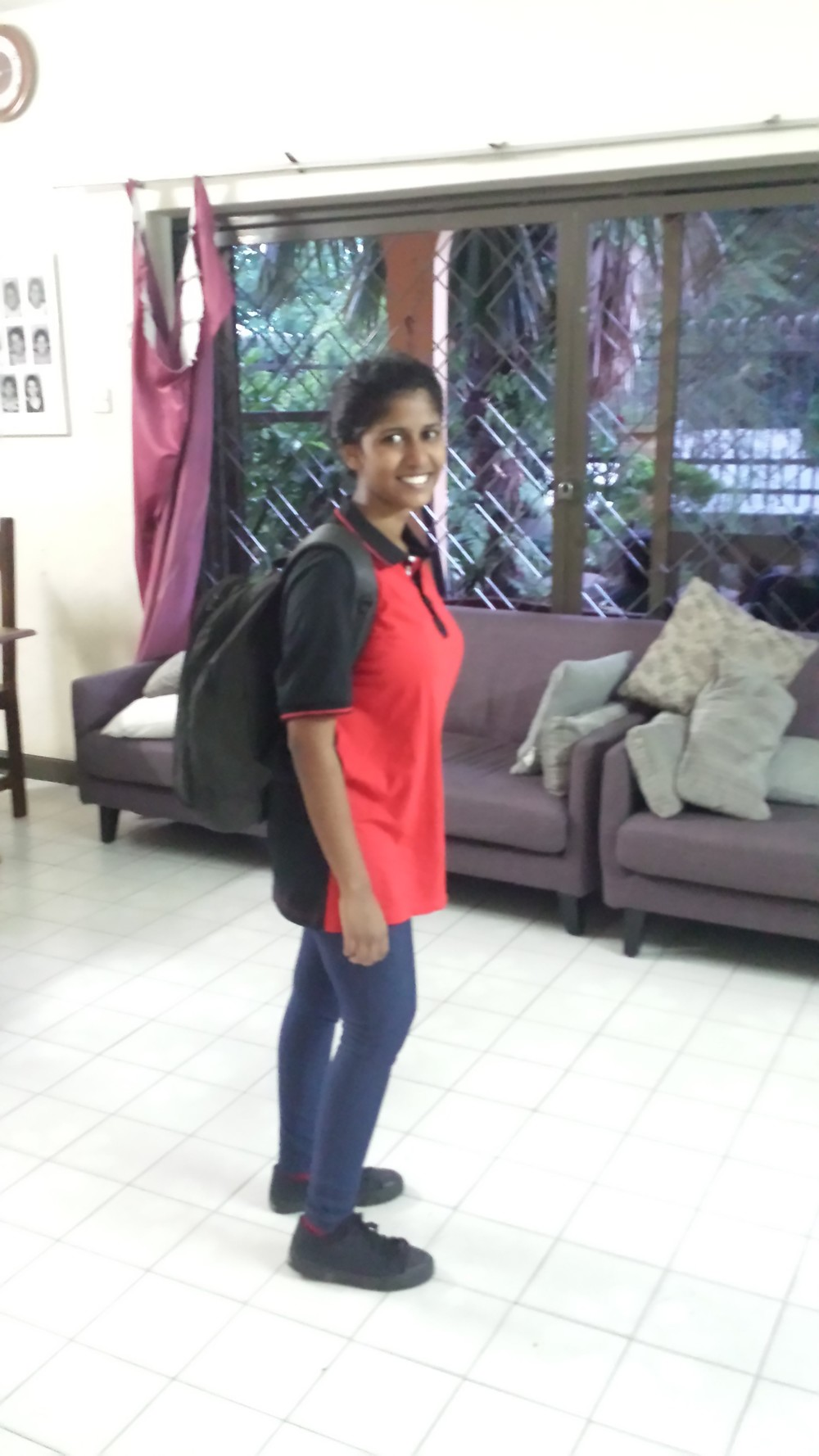 Shalini off to Campers Rangers College