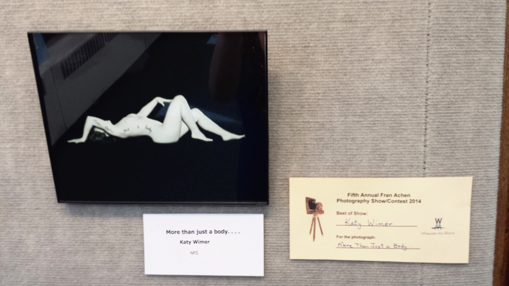 Best in Show award winning photograph-Fran Achen Photography Competition: The Body Project, Whitewater, WI