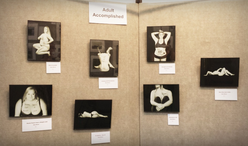 Fran Achen Photography Competition: The Body Project Exhibit, Whitewater, WI