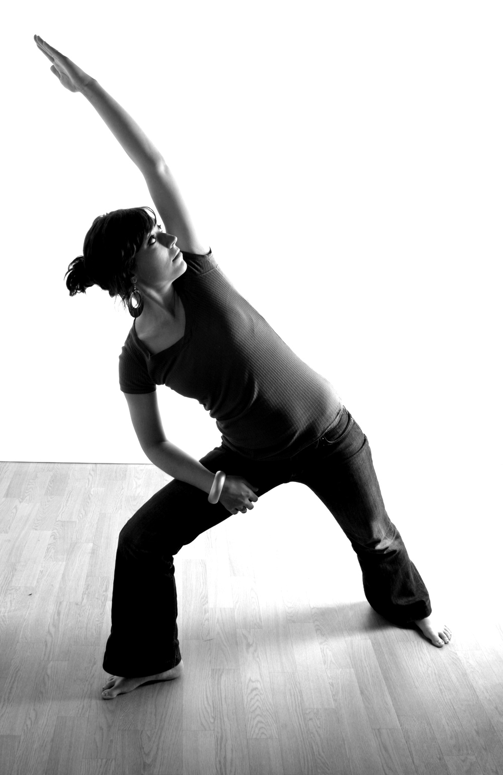 Me doing extended right angle pose in 2008! My bff, Kasey, of KaseyK Photo took this portrait.