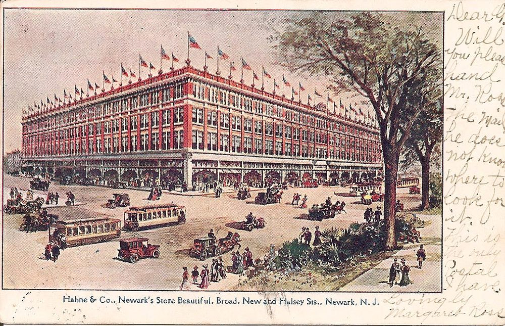 Hahne & Co Building, Newark, NJ