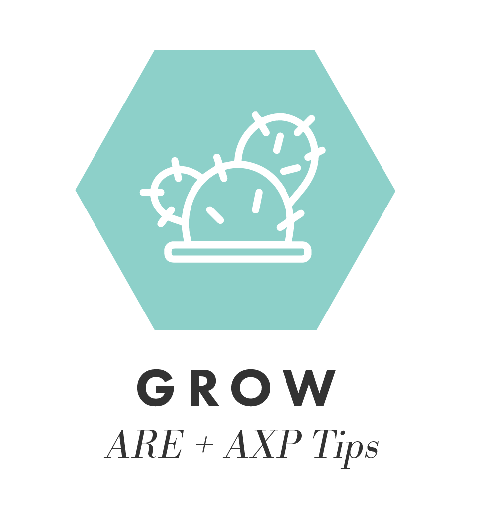 Grow Professionally with ARE + AXP Tips