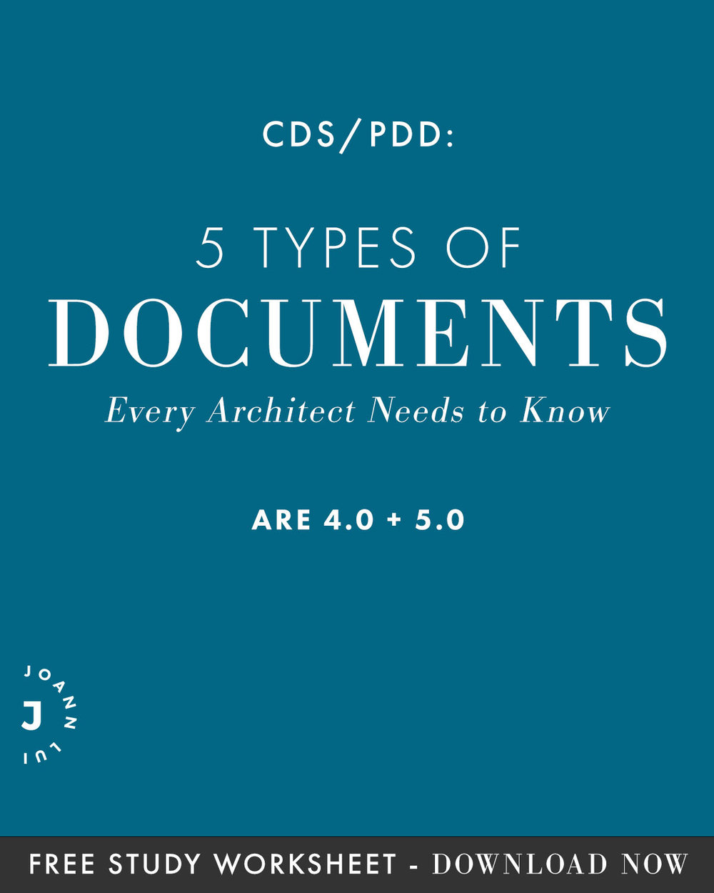 We're going to look into every type of documents you'd need to know for the are 4.0 CDS/are 5.0 PDD exam. You can even download the study guide at the end of the post before your exam! | Joann lui