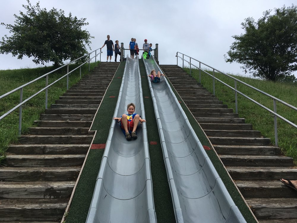 "We drove an hour just for these slides... and every child said ""worth it."""
