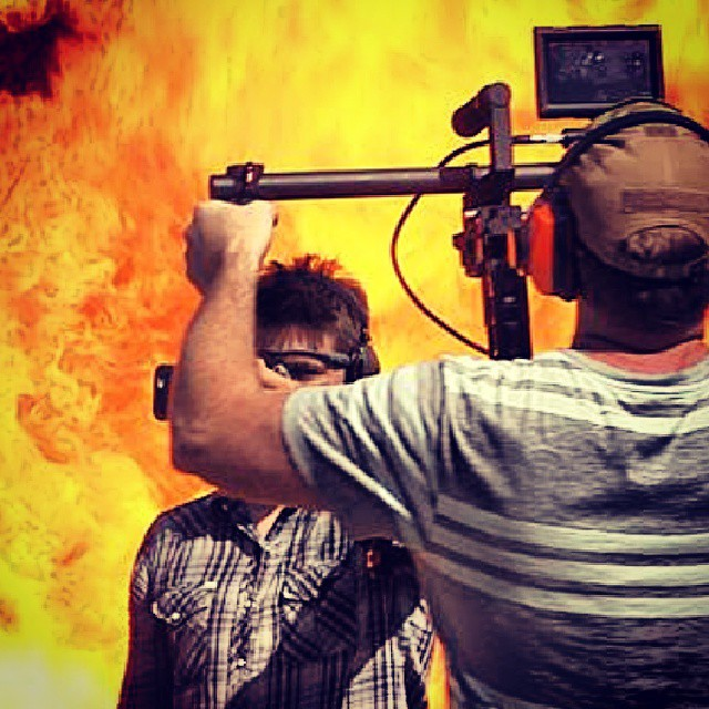 Yes, that is an actual fireball #workflow #explosion #filming #djironin #redepic