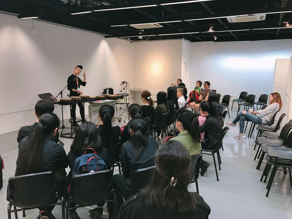 Workshop for Black Swamp Percussion at PAS Days of Percussion 2017 (Hong Kong)