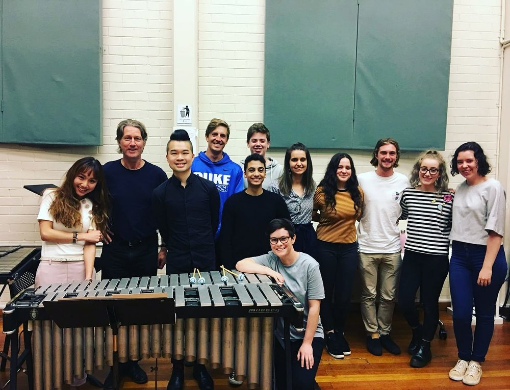 Masterclass at Melbourne Conservatorium of Music 2018 (Melbourne, Australia)