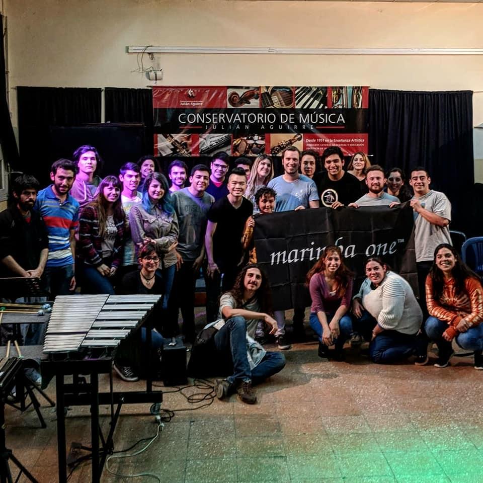 Recital at Conservatorio de Julian Aguirre 2018 (Banfield, Argentina)