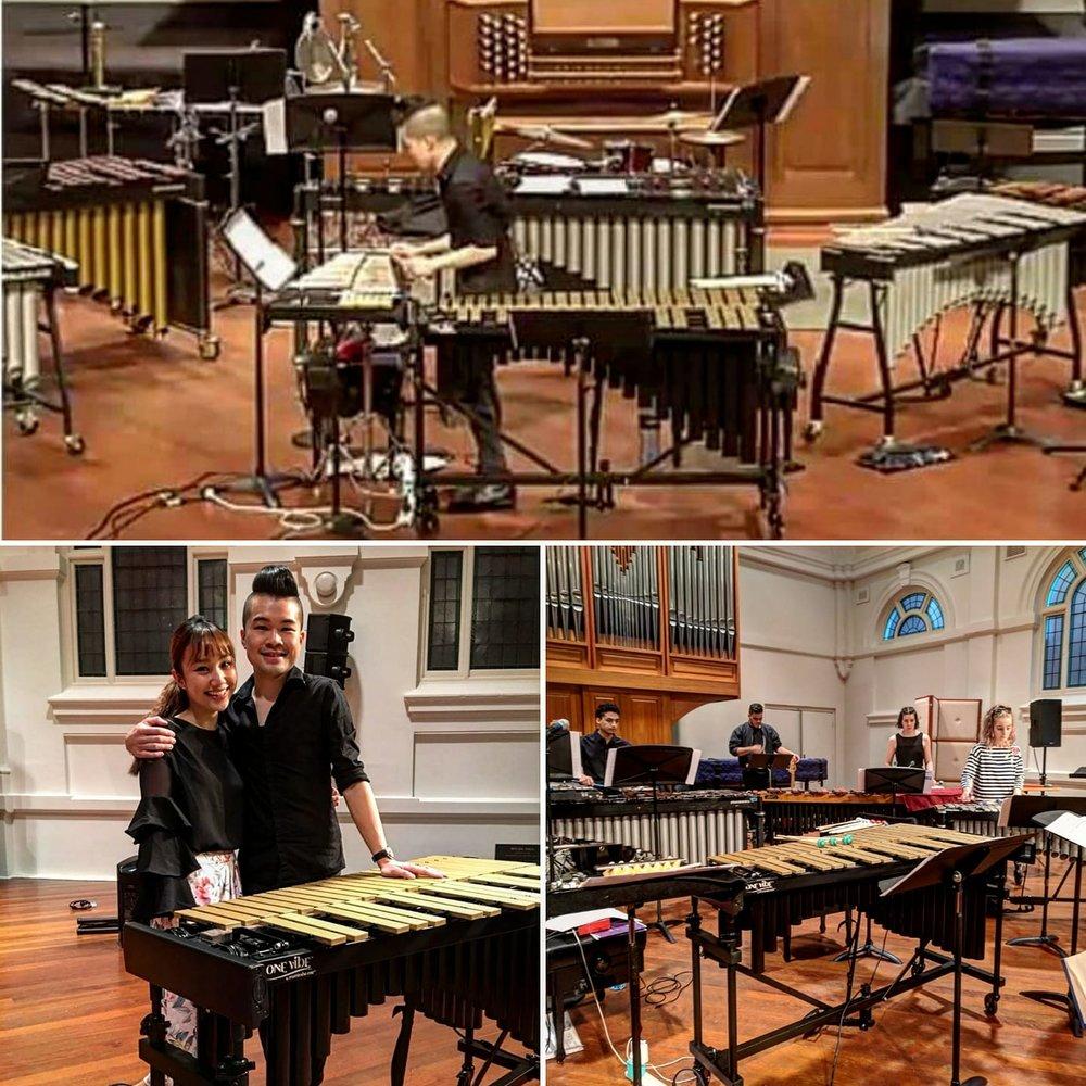 Recital at Melbourne Conservatorium of Music (Melbourne, Australia)