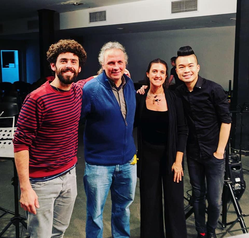 Recital at Conservatorio Astor Piazzolla 2018 (Buenos Aires, Argentina)