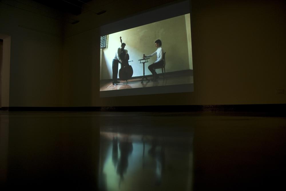 (Installation view) Dodici | Nessuna nota libera, 2011, Museum Ariosto's House, Ferrara, Italy