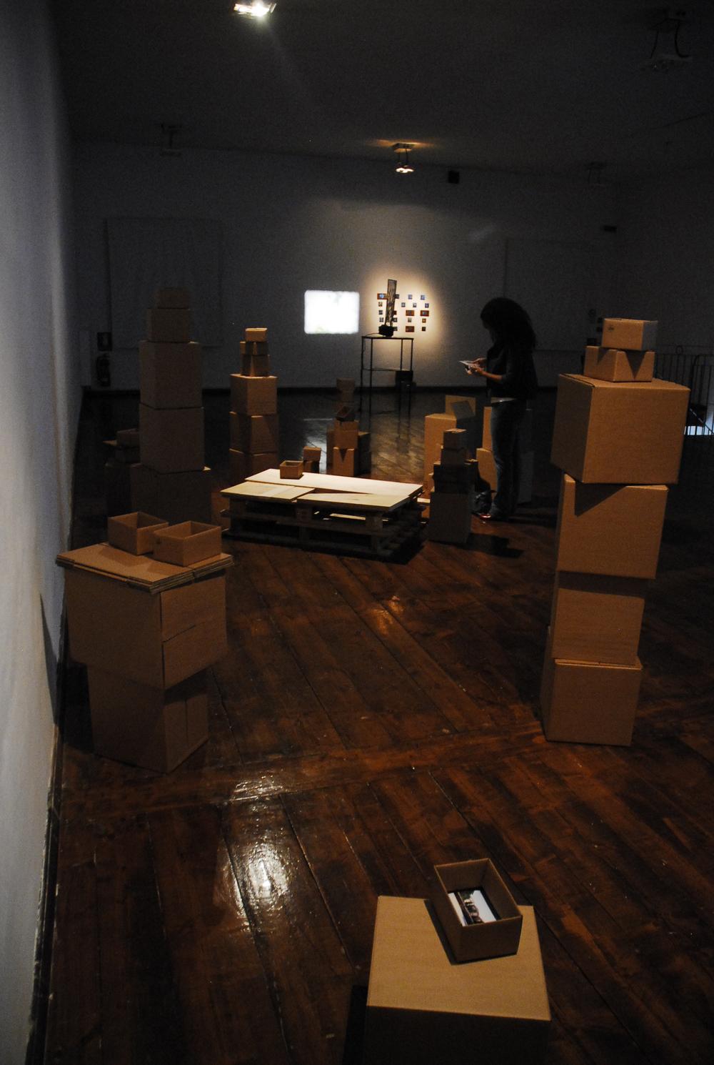 (Installation view) Jamais Vu, 2010 Contemporary Art Pavilion, Ferrara, Italy