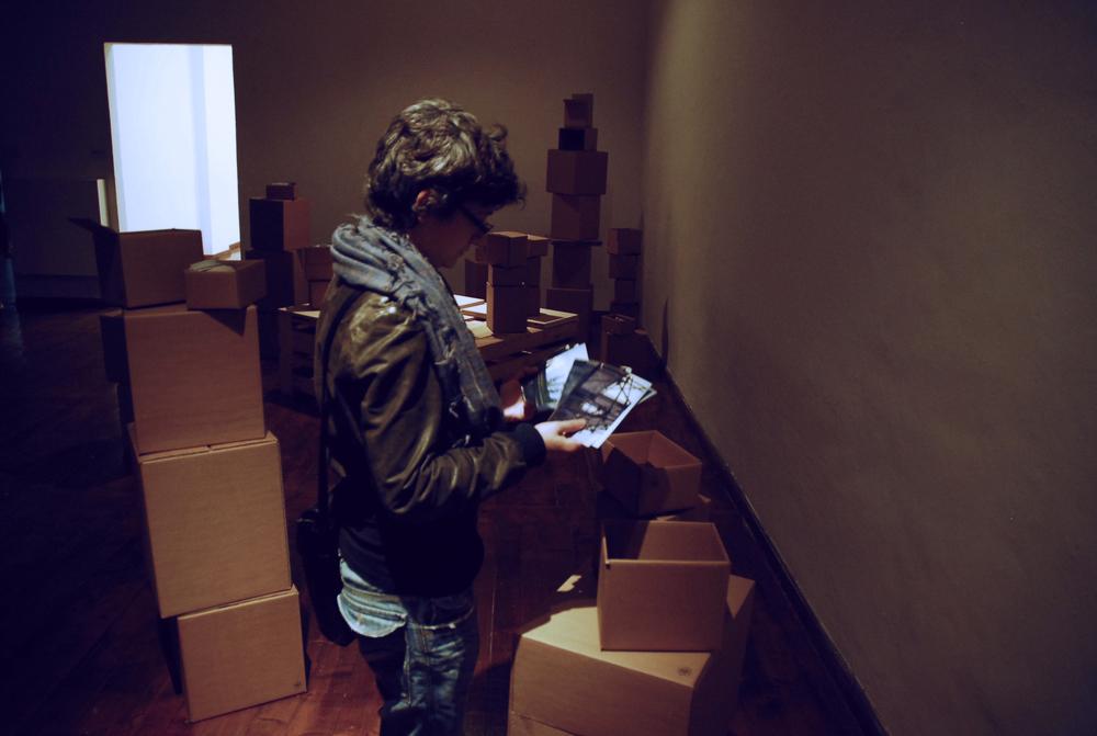 (Detail Installation view)Jamais Vu, 2010 Contemporary Art Pavilion, Ferrara, Italy