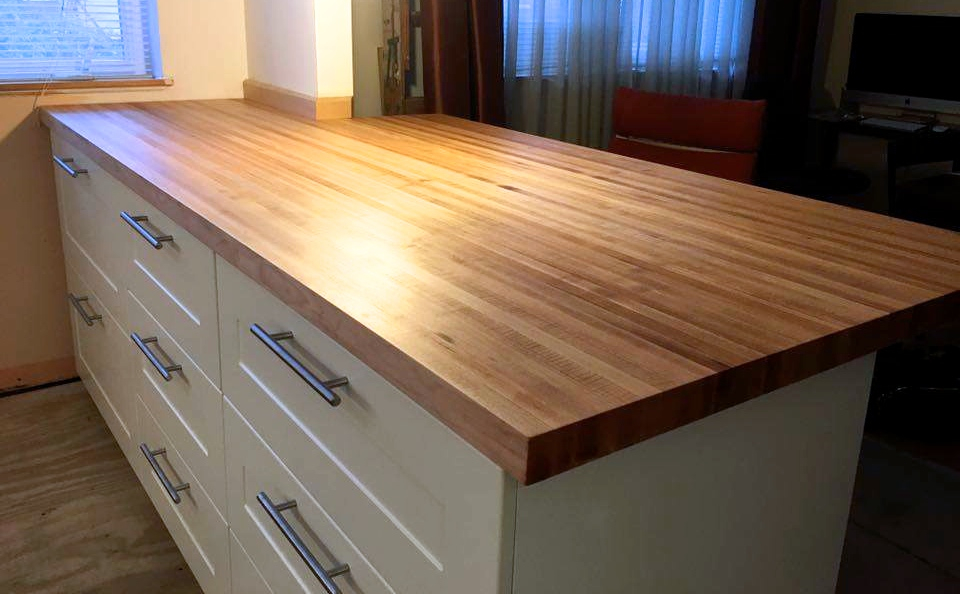 Our Butcherblock Tops Are Made From Hard Maple Oak Ash Or Walnut S Diffe According To Size And Species Of Wood