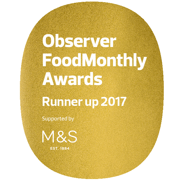 Observer food monthly awards 2016 and again 2017for best cheap eats .