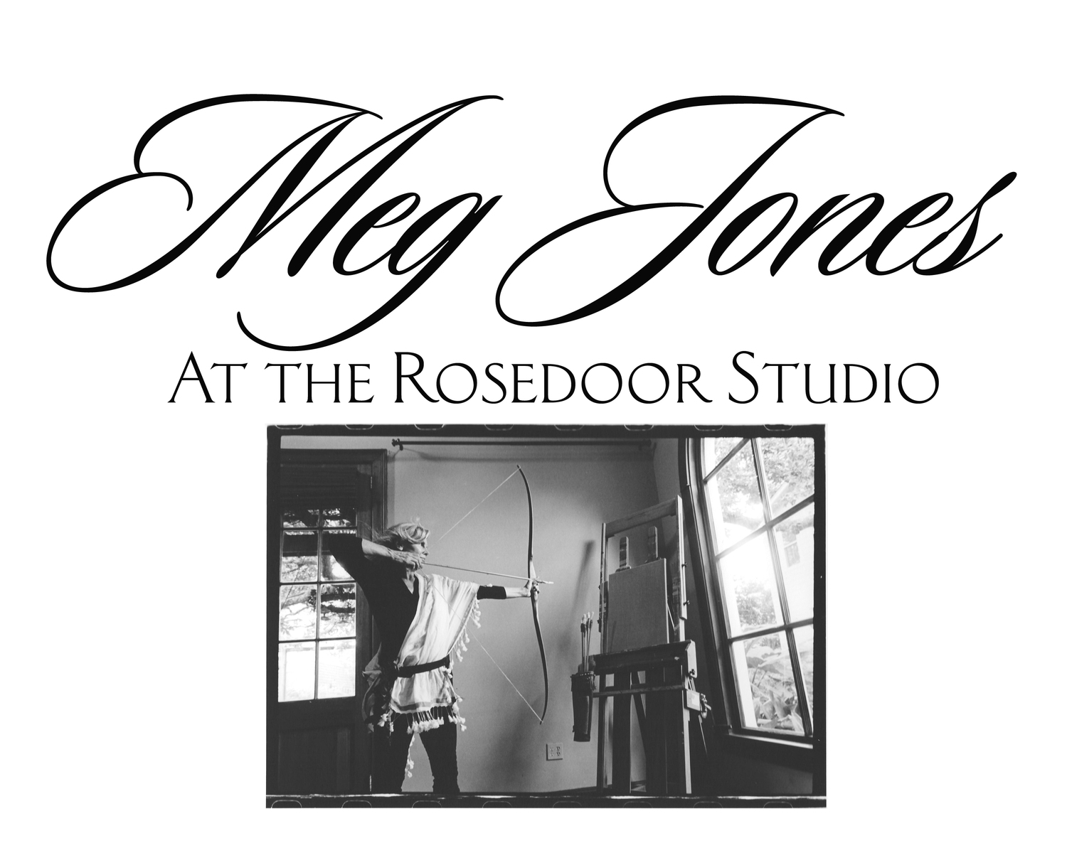 Meg Jones at the Rosedoor Studio