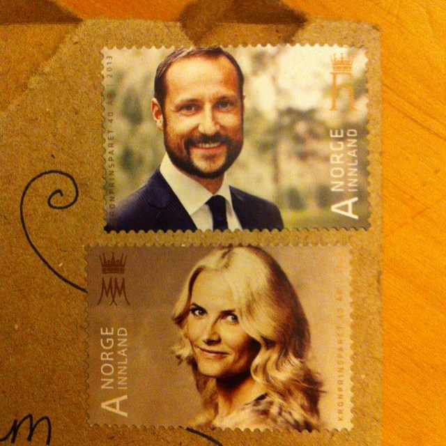 Best #stamps I've seen in a long time! #norway
