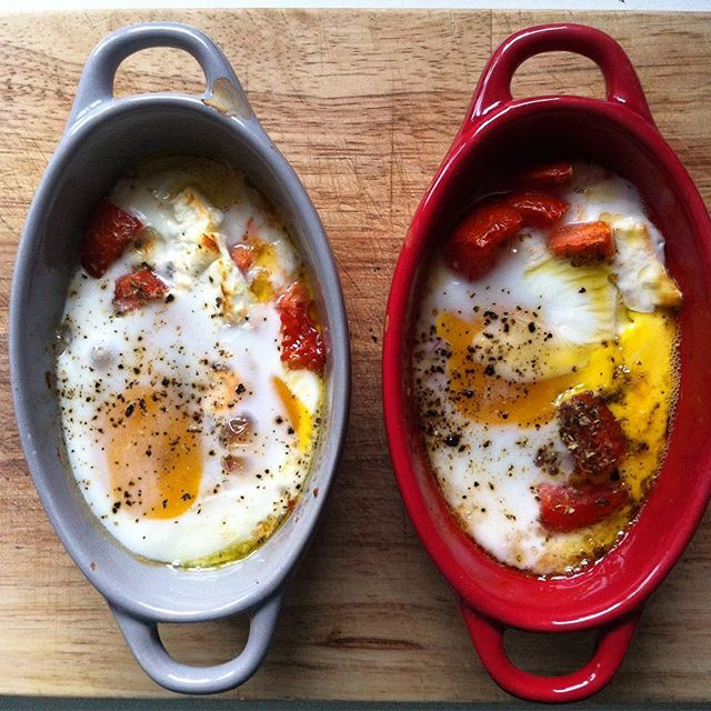 #homemade #brunch #tomatoe #feta #egg and a pinch of #oregano #kitchenupdates