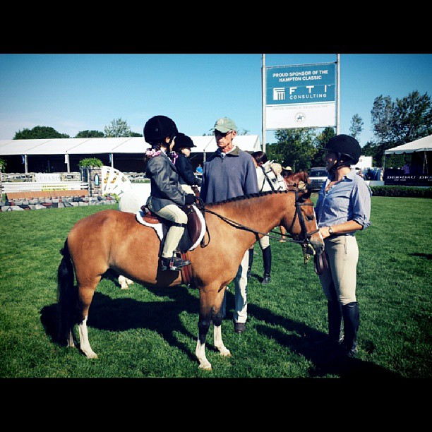 Joe Cargos returns to the Hampton Classic to judge the 2-4 year old competition