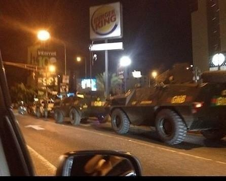 Last night, Venezuela disclaimer: this is not my photo, I found it on twitter.