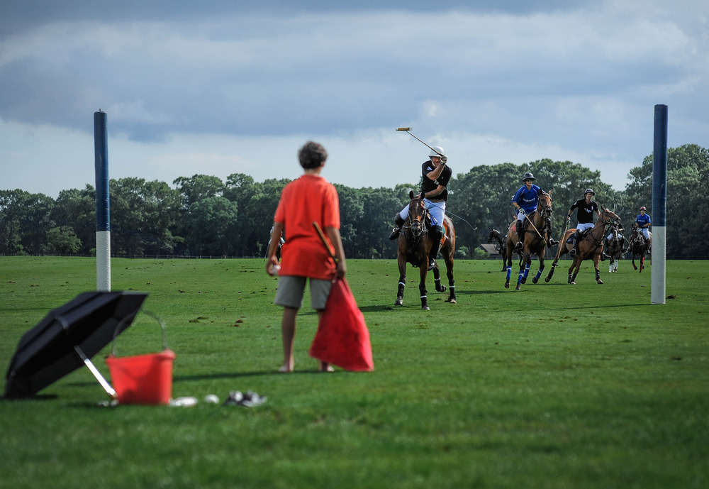 Polo on Long Island. I never knew Long Island had a polo field. (And get this, it wasn't in the Hamptons. Weirdd….)