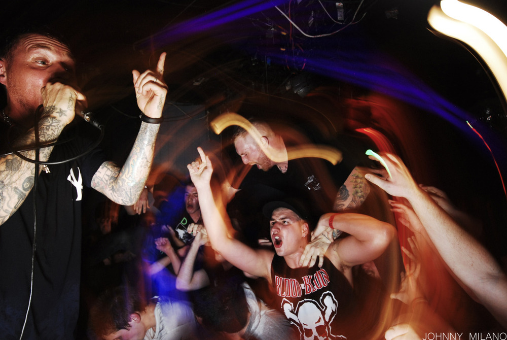 First show I've shot in such a long time. Felt good. H20, Punishment Due, and Ice Age at Broadway bar in Amityville, February 24 2012