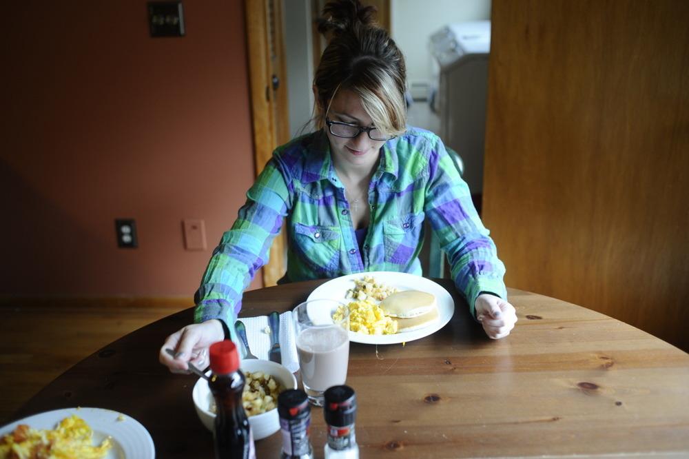 Breakfast! Upstate New York.