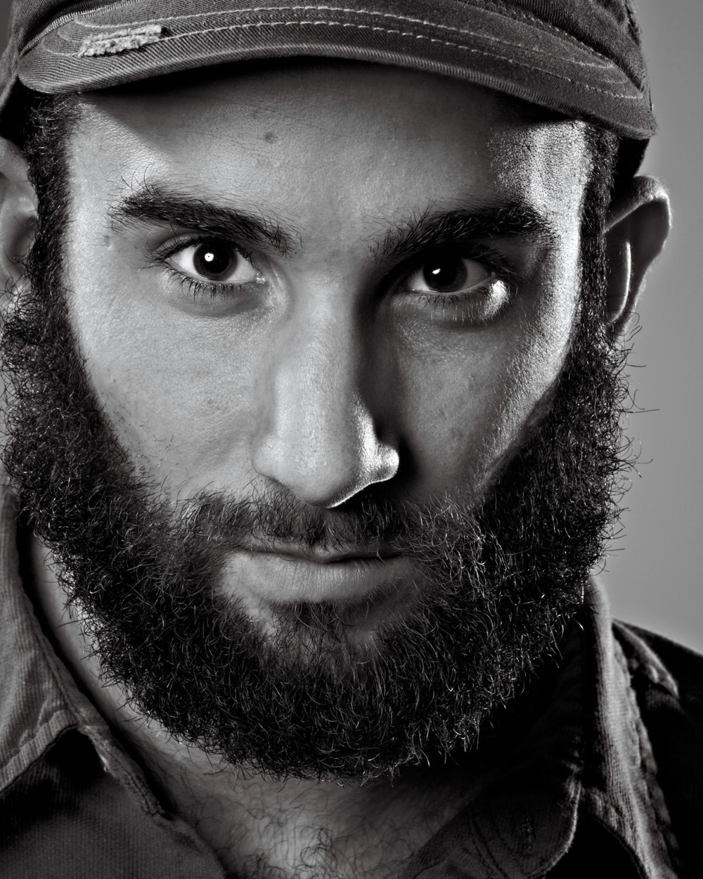 The only portrait I'll ever enjoy of myself- me as Castro