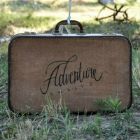 HAND PAINTED SUITCASE MAKEOVER