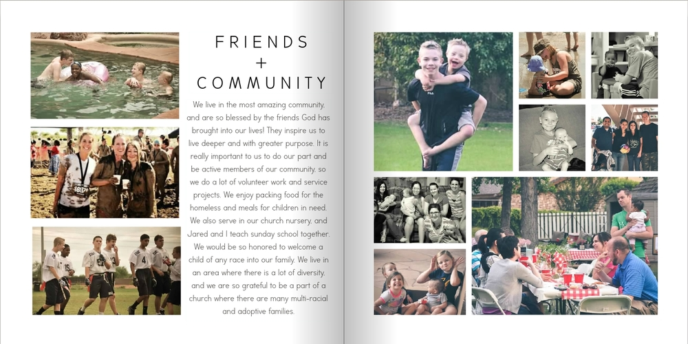community adoption profile book