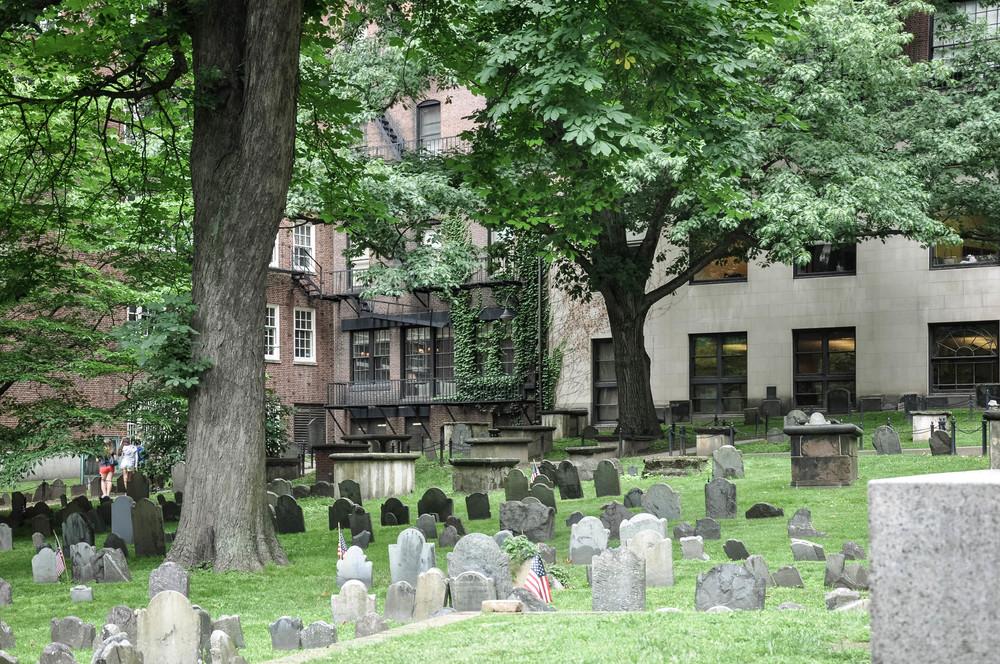 Boston Graveyard The Copper anchor