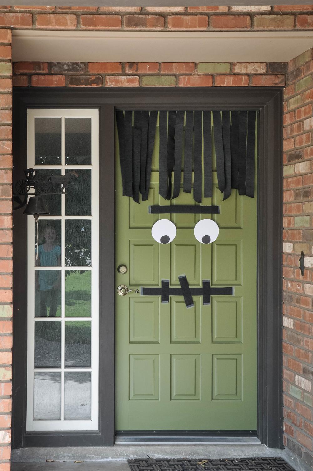 DIY 10 minute Frankenstein door & DIY: 10 minute Frankenstein door \u2014 The Copper Anchor
