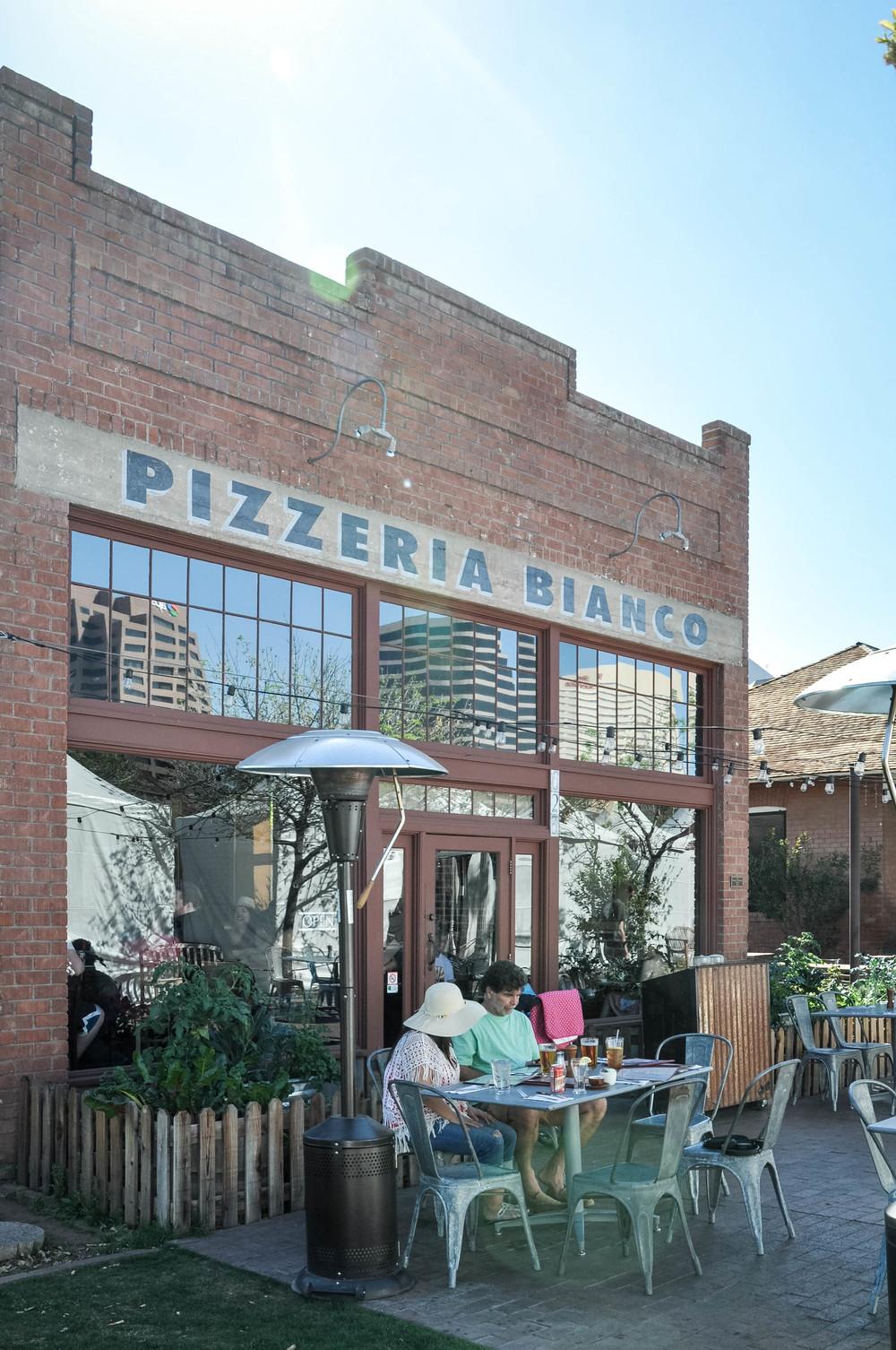 Pizzeria Bianco's Phoenix Arizona