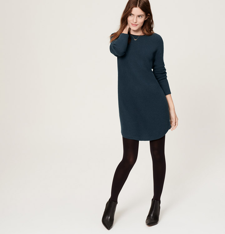 Sweater dress from loft.com