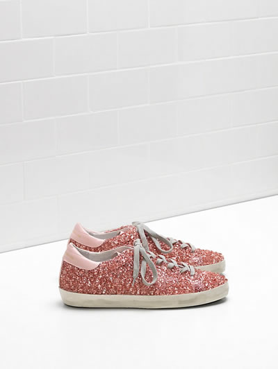 Golden Goose - Superstar Glitter Sneakers