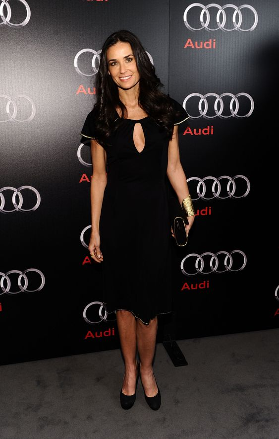 Demi Moore has Classic Style Savvy