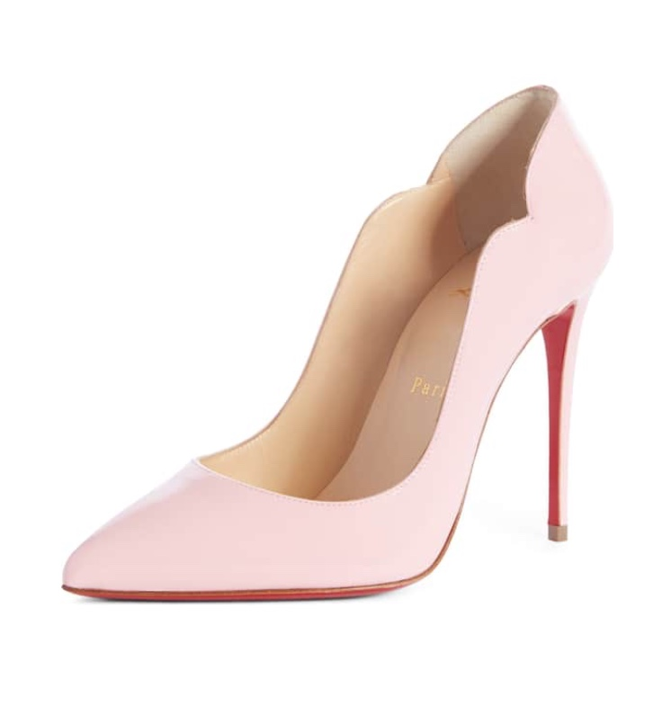 Christian Louboutin Hot Chick Scallop Pumps - Nordstrom