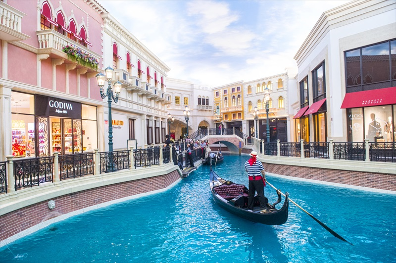 Grand Canal Shoppes at Venetian